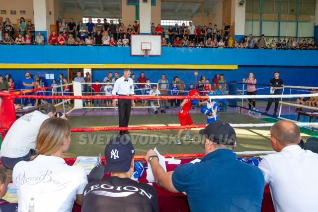 Майже 200 боксерів виборювали медалі у Світловодську (ОНОВЛЕНО)