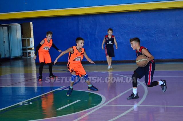 Баскетбол: у двобої сильніших зійшлися Світловодськ з Кропивницьким