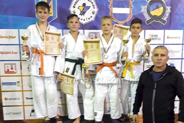 Четверо світловодців стали призерами Всеукраїнського турніру з дзюдо
