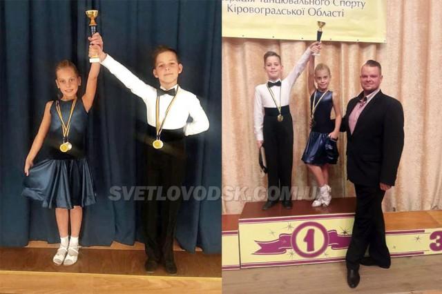 Вихованці гуртка спортивного бального танцю «Steep Dance» показали гарні результати на змаганнях у Олександрії