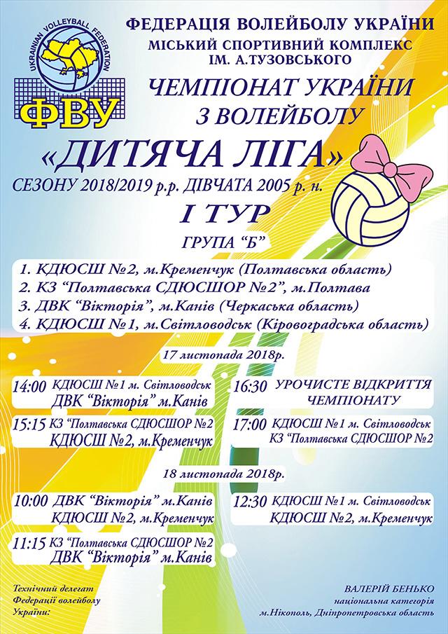 АФІША: Чемпіонат України з волейболу у Світловодську