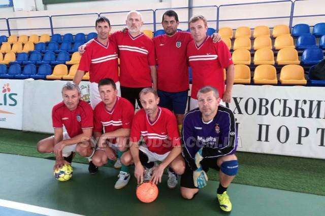 Світловодські ветерани футболу на Кубку України