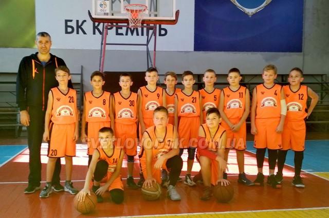 Світловодські баскетболісти «КДЮСШ-Комети» прагнуть бути кращими!