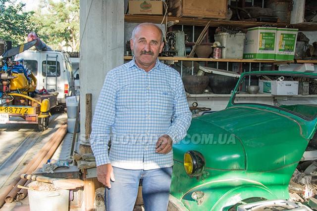 У гостях у власівського винахідника Володимира Яковлєва