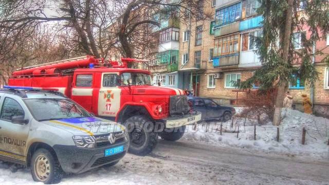 У Світловодську під час гасіння пожежі рятувальники врятували чоловіка