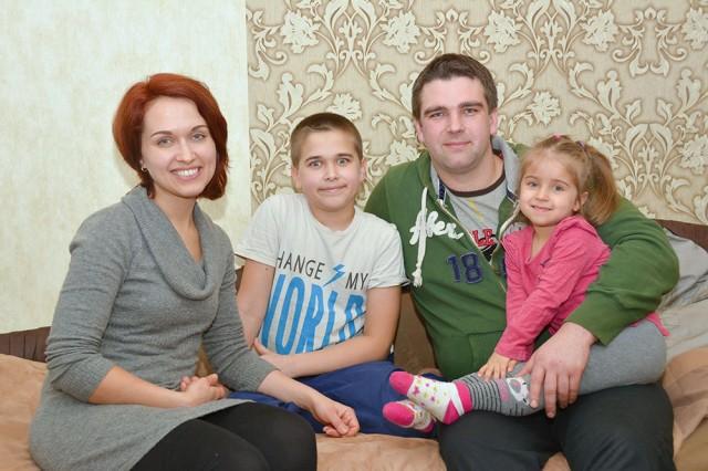 Родина Веніаміна та Тетяни Клічуків живуть за покликом серця