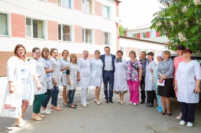 Олесь Довгий: «Гарні умови лікарям — перший крок до якісної медицини»