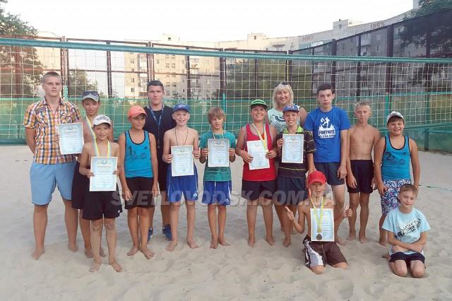Пляжний волейбол до Дня Незалежності