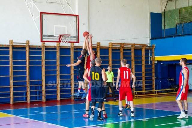Баскетбол: Світловодськ поступився Олександрії