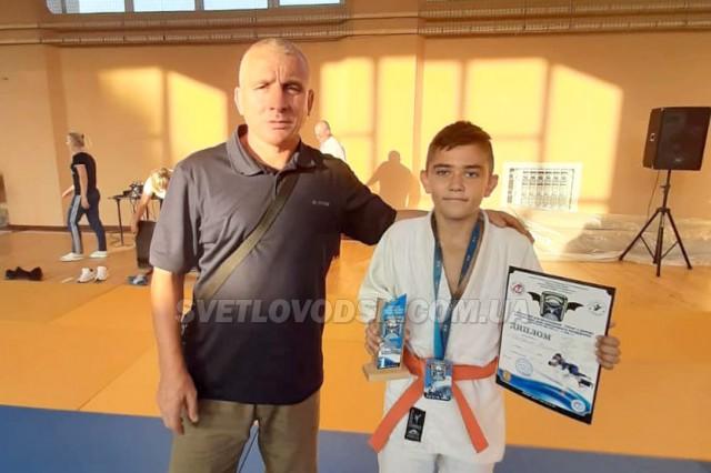 Данило Щербина — призер Всеукраїнського турніру з дзюдо