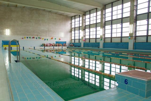 Міський басейн запрошує світловодців відпочити та оздоровитися!