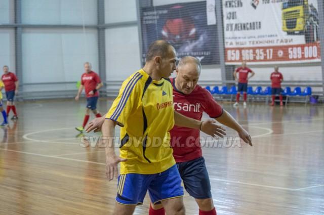 Світловодські ветерани футзалу 50+ на чемпіонаті України