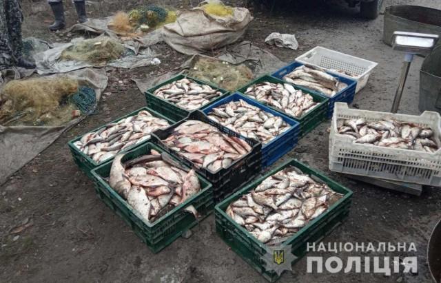 У Світловодську поліцейські спільно з рибоохороною викрили браконьєрів