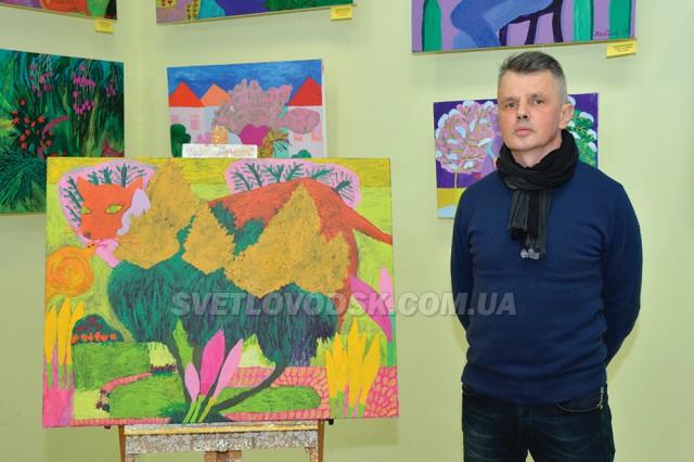 Виставка картин пам'яті Яни Дябіної-Товкайло