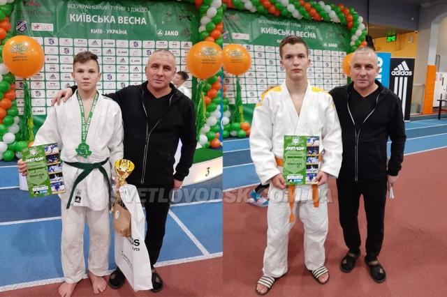 Ярослав Бережний — бронзовий призер турніру з дзюдо