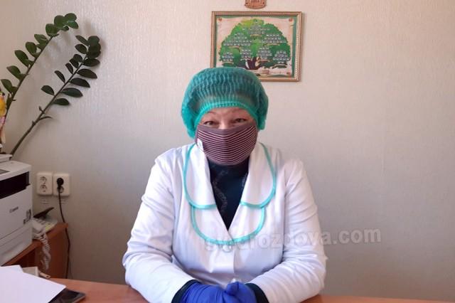 Так виглядає на робочому місці сьогодні Людмила Шумейко