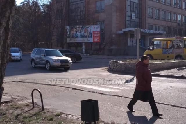 ФОТОФАКТ: ДТП на перехресті
