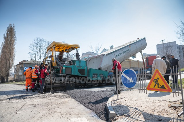 У Світловодську ремонтують дорогу по вул.Павлова (ФОТО, ВІДЕО)
