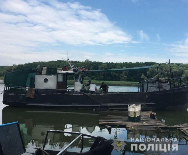 У Світловодську поліцейські спільно з працівниками рибохорони викрили браконьєра