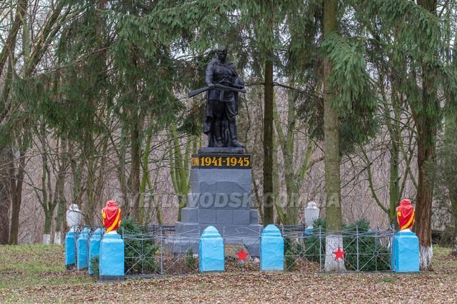 Братська могила загиблих при визволенні краю