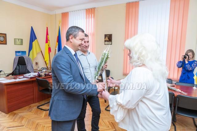Віктор Селич та Роман Домбровський привітали журналістів