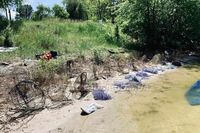 Кременчуцьке водосховище: полювання на браконьєрів