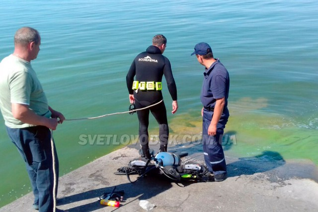Водолази У ДСНС в області дістали тіло рибалки з Кременчуцького водосховища