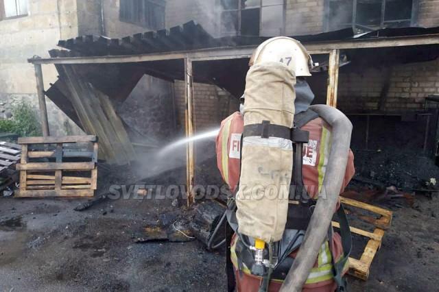 Пожежі у Власівці та у Світловодську (ФОТО, ВІДЕО)