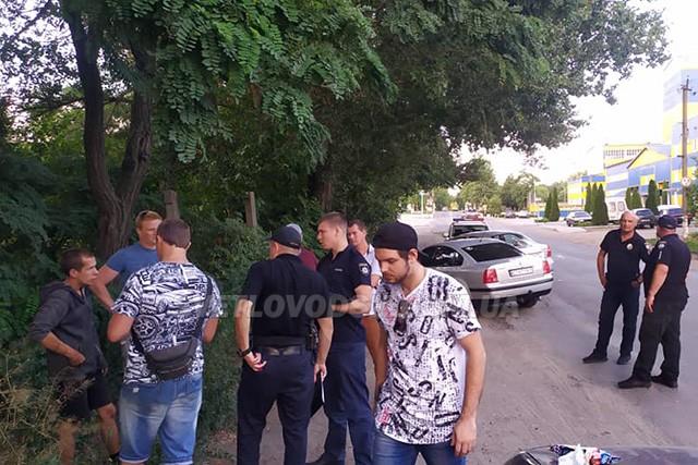 Поліцейські затримали жителя сусідньої області за вчинення розбійного нападу