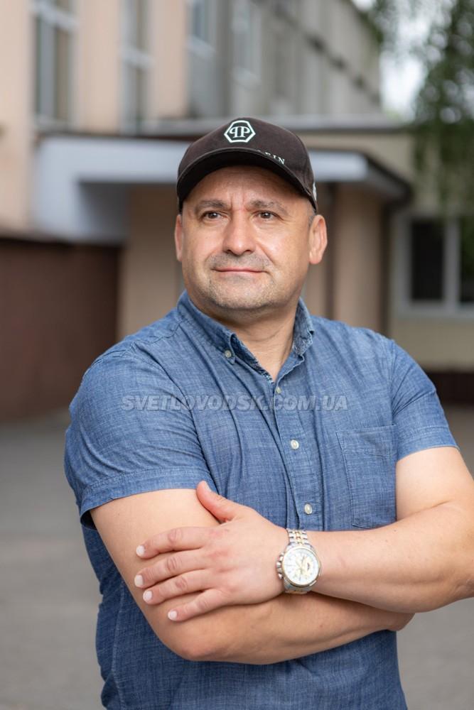 Директор Світловодської комплексної дитячо-юнацької спортивної школи №1 Василь Мороз