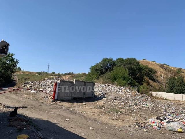 У Світловодську склалася критична ситуація навколо міського сміттєзвалища