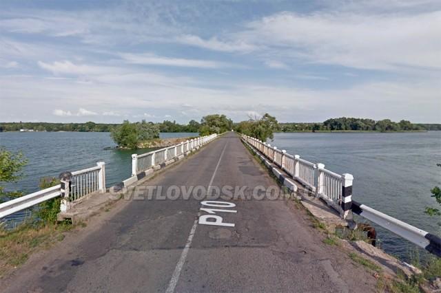 Рух мостом між м.Світловодськ та с.Подорожнє буде частково перекрито