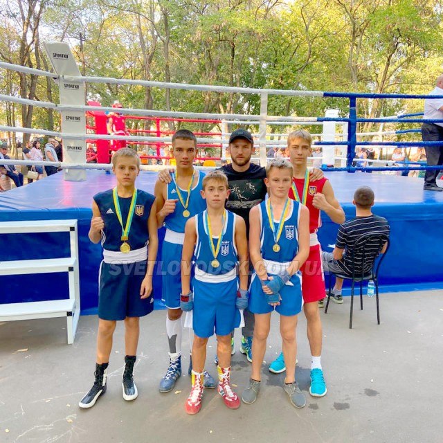 Чергові перемоги боксерів Світловодська