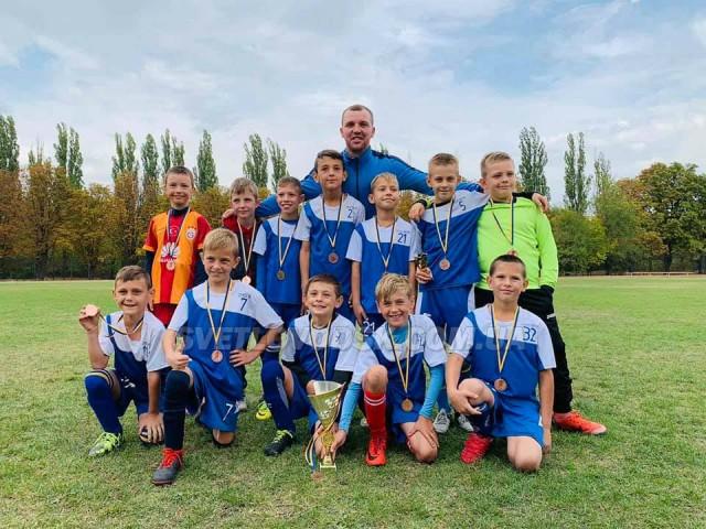 Світловодські футболісти вибороли бронзу у Кременчуці