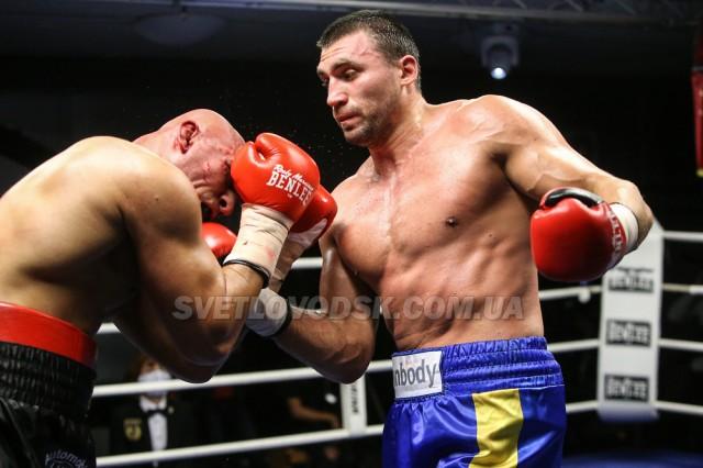 Віктор Вихрист здобув  четверту поспіль перемогу