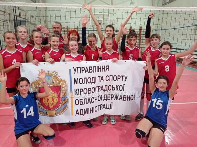 Вдруге чемпіонами області з волейболу стали світловодські спортсменки