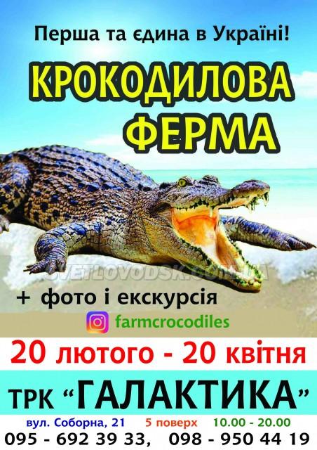 """Запрошуємо вас на першу та єдину в Україні """"Крокодилову ферму""""! (РОЗІГРАШ КВИТКІВ)"""