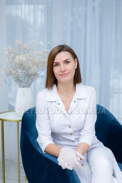 Олена Анісімова: «У моєму кабінеті подології  чисто так, що я можу ходити по підлозі босоніж»
