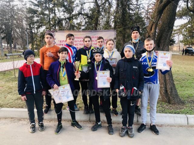Світловодські велотуристи — перші на обласних змаганнях