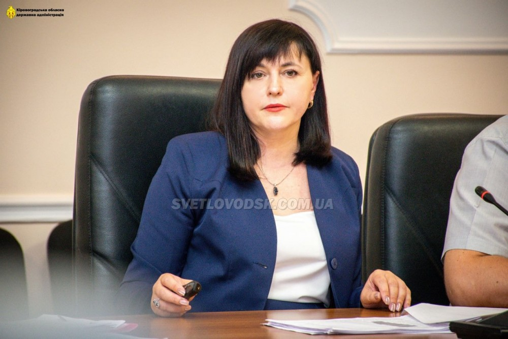 Володимир Зеленський призначив Марію Чорну головою Кіровоградської облдержадміністрації