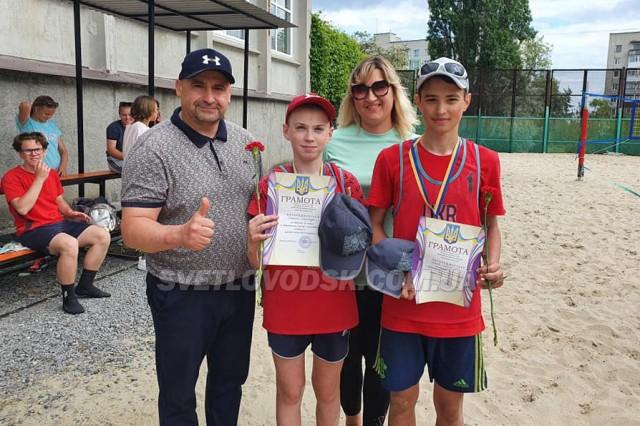 До Дня міста у Світловодську відбувся традиційний турнір з пляжного волейболу