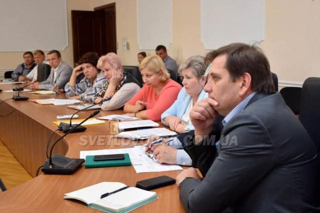 Під головуванням Марії Чорної відбулася нарада щодо підготовки до опалювального сезону в Світловодську